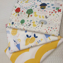 Yellow Series Cotton Fabric Cotton Patchwork ClothDIY Sewing Quilting Fat Quarters Material For Baby&Child
