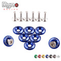 DYNO RACING  - NEW   Ryanstar Racing Aluminum Fender Washers kit Design Car styling 8pcs washers and bolt