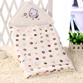 2017 Bamboo & Animal & Letters Imprimir Newborn Parisarc Swaddle Cobertor Do Bebê Do Algodão Da Cama Infantil Respirável e Confortável Envelope