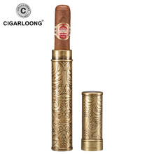 COHIBA Cigar Moisturizing Tube Travel Portable sealed large diameter  tube gift box packaging CH-0017