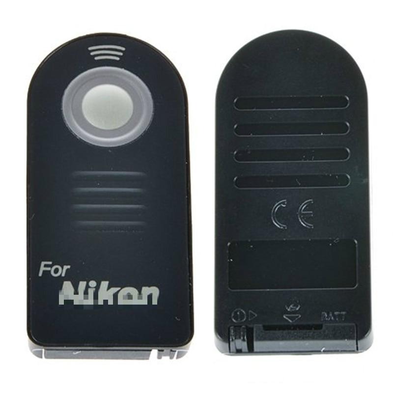 ML-L3 инфракрасный беспроводной пульт дистанционного управления спуском фотографического затвора для Nikon D7100 D70s D60 D80 D90 D5200 D50 D5100 D3300 D3200 контроллер