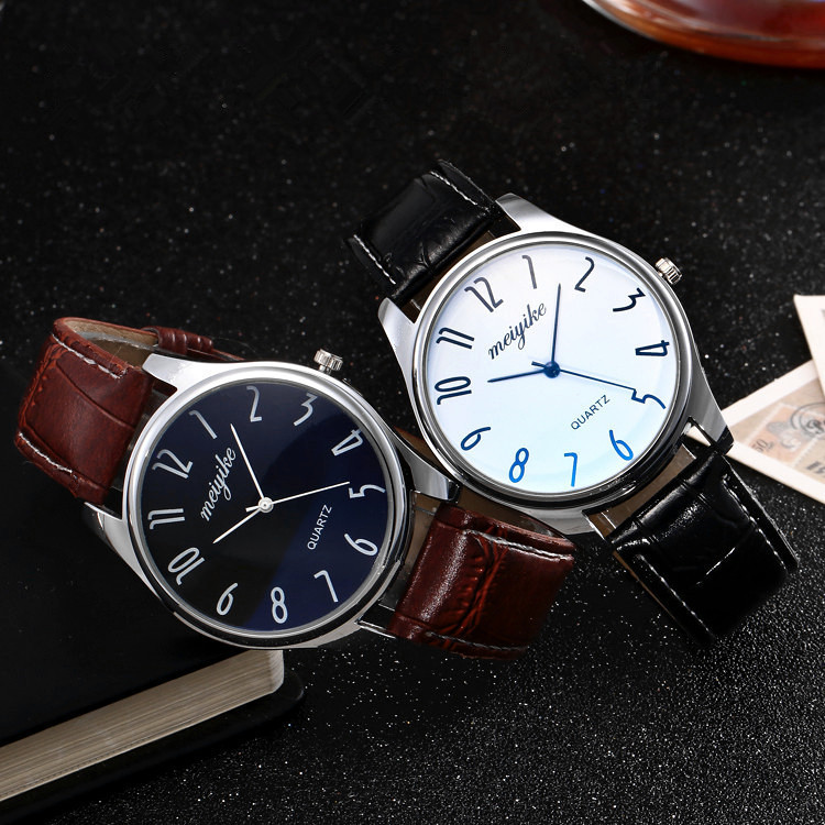 Wrist Watch Men 2018 Top Brand Luxury Famous Women Geneva Leather Analog Stainless Steel Quartz Wrist Watch