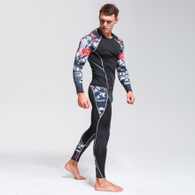 Thermal Underwear Mens Long Compression Clothing Fitness Shirt Men Running Training Pants
