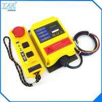 AC 220V Industrial remote controller interruttori di Controllo Gru della gru di Sollevamento Della Gru 1 trasmettitore + 1 ricevitore