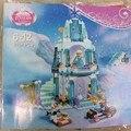Serie de la muchacha Modelo de Castillo de Hielo Espumoso de Anna Elsa Reina Elsa Kristoff Olaf Juguetes de Construcción Bloques SY373 Lele 79168 Jiego 301
