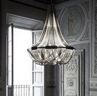 Alumínio Borla Circular Lustre Para Sala de estar da Sala de Jantar Moderna Casa de Luxo em Estilo Europeu Simples Lâmpada Led incluído|Lustres| |  -
