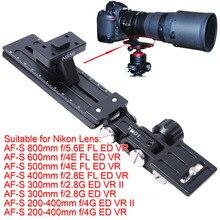 ขาตั้งกล้องเมาแหวนฐานสนับสนุนปกยืนกล้องที่วางจำหน่ายจานด่วนยาวโฟกัสเลนส์H Olderสำหรับกล้องNikon AF-S 600มิลลิเมตรf/4E FL ED VR
