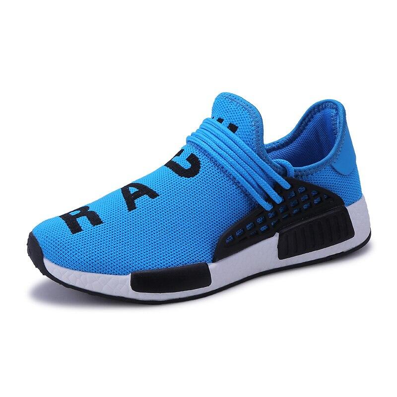 f3e1480292ad5 2018 deporte de los hombres zapatillas de deporte transpirables gran zapatos  hombres zapatos para caminar para hombre azul negro Deporte Hombre  zapatillas ...
