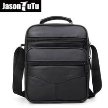 Джейсон пачка высокое качество из натуральной кожи Для мужчин досуг Single-сумка Кроссбоди Сумка Realer телячья кожа сумка