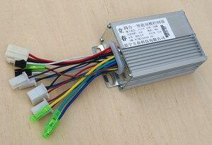 Бесщеточный контроллер, контроллер двигателя BLDC 350 Вт 24 В/36 В постоянного тока 6 MOFSET, контроллер скорости Электронного велосипеда/электронно...