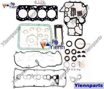 For ISUZU 4JJ1 Overhaul Head Gasket Set 5-87815-922-1 Fit HITAICHI ZX135US-3 POWER SHOVEL Diesel Engine Spare Parts