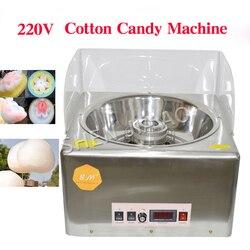 Hot sale electric candy cotton maker cotton candy machine Marshmallow machine 220v/110v 500-1000w adjustble 1pc