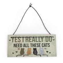 1 шт., подвесные таблички для кошек, для спальни, смешной геймер, игровые таблички, подарки на Рождество, день рождения, для питомца, влюбленного, знак, домашнее деревянное украшение