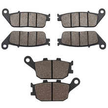 FOR HONDA CBR600 CBR 600 CB600 CB 600 Hornet CBF 600 CBF600 CB750 CB 750 CBF 1000 CBF1000 599 Motorcycle Front & Rear Brake Pads