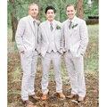 Bespoke Black Wedding Best Man Groomsmen Suit Groom Tuxedos Men Business Suits