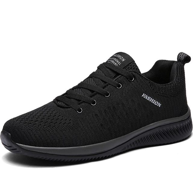 Hundunsnake Breathable Sport Shoes Men Sneakers Mens Running Shoes Sports Summer Training Shoes Men Tennis Black Trainers B-015 2