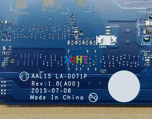 Image 5 - Dell Inspiron 15 5559 için RV4XN 0RV4XN CN 0RV4XN AAL15 LA D071P REV: 1.0 (A00) i7 6500U Laptop Anakart Anakart için Test