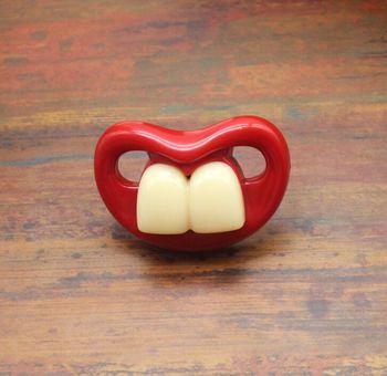 Αστείες Ορθοδοντικές Πιπίλες Σιλικόνης για Μωρά Αστεία Ορθοδοντική Πιπίλα Σιλικόνης Μουστάκι Αστεία Ορθοδοντική Πιπίλα Σιλικόνης Κόκκινα Χείλια