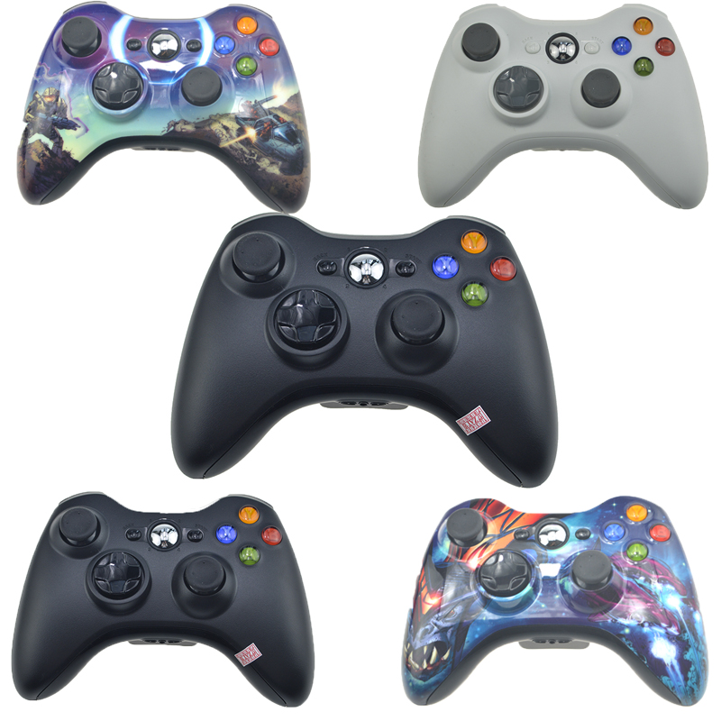 цены Gamepad For Xbox 360 Wireless Controller For XBOX 360 Controle Wireless Joystick For XBOX360 Game Controller Gamepad Joypad