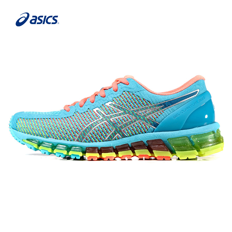 Original ASICS Women Shoes Hard-wearing Breathable Cushioning Running Shoes Light Weight Sports Shoes Sneakers free shipping