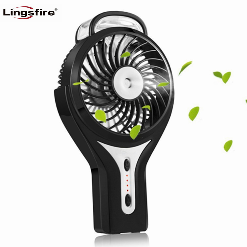 Handheld Misting Fan Personal Mist Humidifier Cooling Mini Fan Rechargeable Beauty Humidifie USB Fan Portable Air Conditioner
