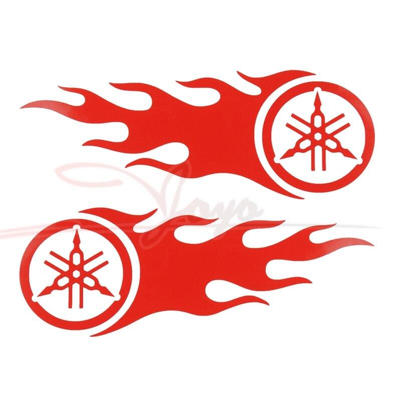 Motorcycle Flame Decals Fuel Tank Stickers Fairing Sticker For YZF R6/R1/R3 XJ6 FZ1 FZ6 tmax500 tmax535 MT07 MT01 XJR400/1300 yamaha xjr400 fzr400 fz6 fz1 yzf r6 r1 xjr1300 преобразован начиная гвозди шурупы