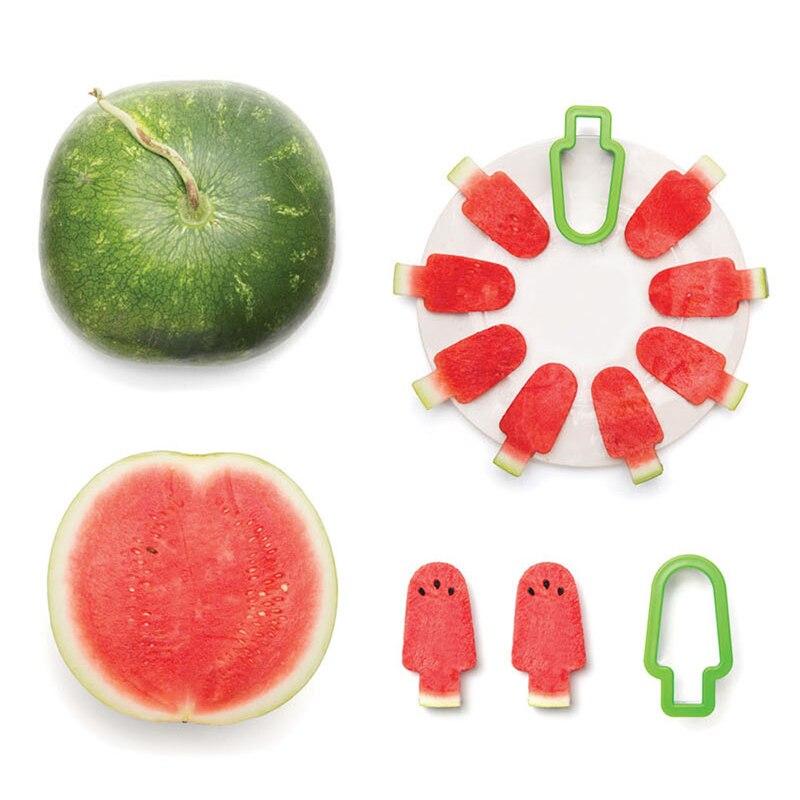 1 unid Color Al Azar Creativo DIY Popsicle Mold Forma de Helado en Acero Inoxida