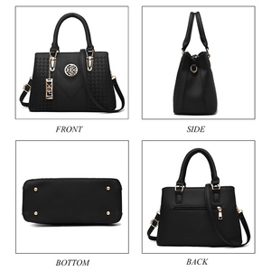 Image 3 - Embroidery Messenger Bags Women Leather Handbags  Bags for Women 2019 Sac a Main Ladies Hand Bag