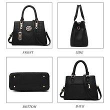 Embroidery Messenger Bags Women Leather Handbags Crossbody Shoulder Bags for Women