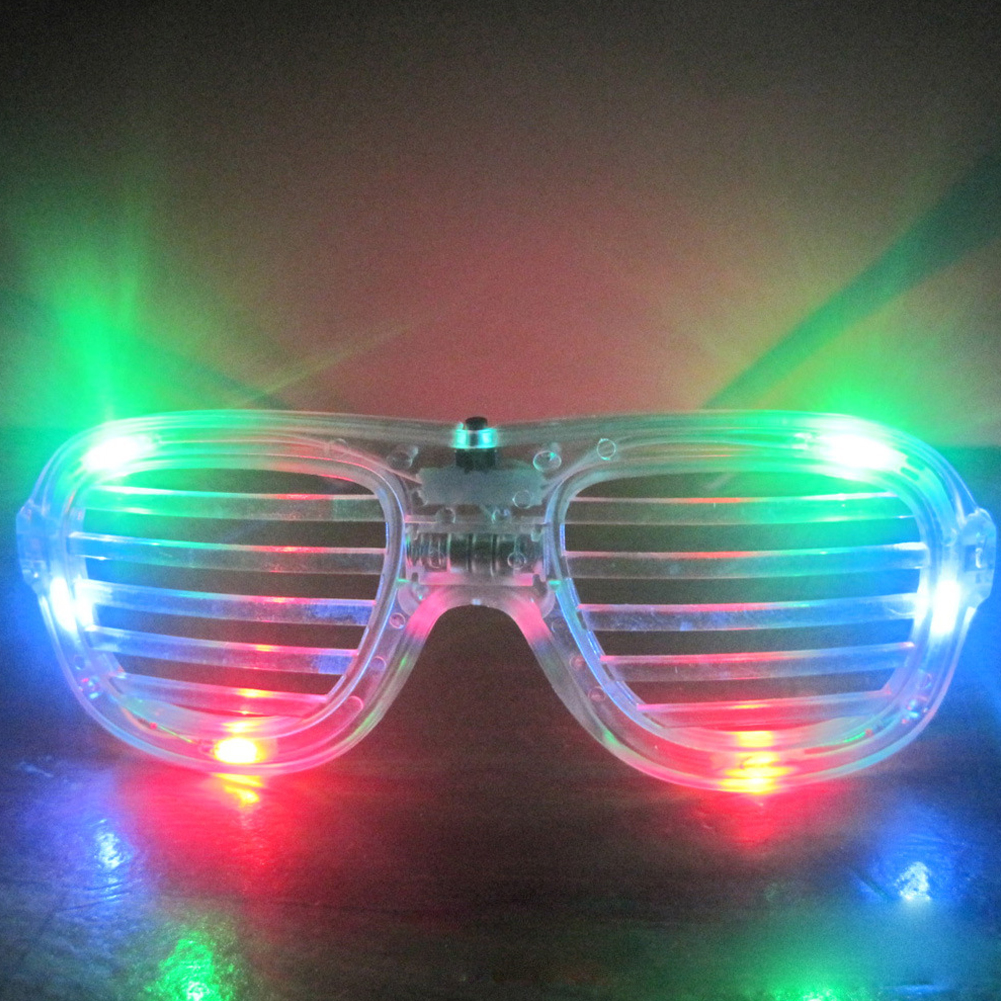 Sunglasses Decorations  superior party decorations accessories led light emitting glasses