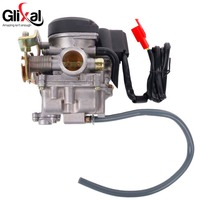 Keihin 20mm Big Bore Carb CVK Keihin Carburetor For Chinese GY6 50cc 60cc 80cc 100cc 139QMB
