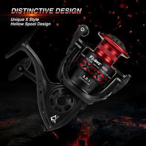 Image 2 - Piscifun Flame Spinning Reel 10 BB 5.2:1 Gear Ratio 9KG Max Drag Graphite Hollow Body Braid Ready Spool Ultra Light Fishing Reel