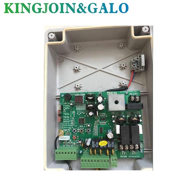 Électrique Swing Ouvreur de Porte contrôleur et Télécommande Swing Porte Moteur Avec 2 Télécommande