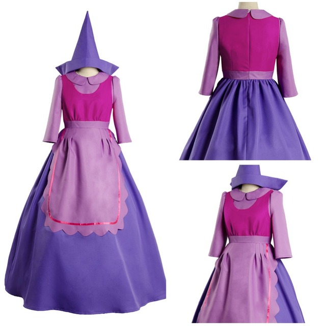 Sleeping Beauty Cinderella Mouse Suzy Dress Cosplay Costume