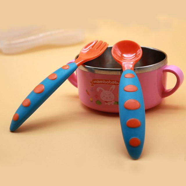 Colorful Safe baby Utensils Set
