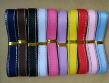 Новый фиксированный набор Mix 10 цвет 3/8 «9 мм сплошной цвет серебро сбоку корсажные ленты с принтом gryb0910