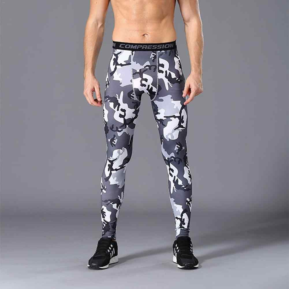 5f4754bbb5 Fitness Sports Pants Men Compression Tights Men's Quick-drying Outdoor  Running Training Basketball Pants Tight