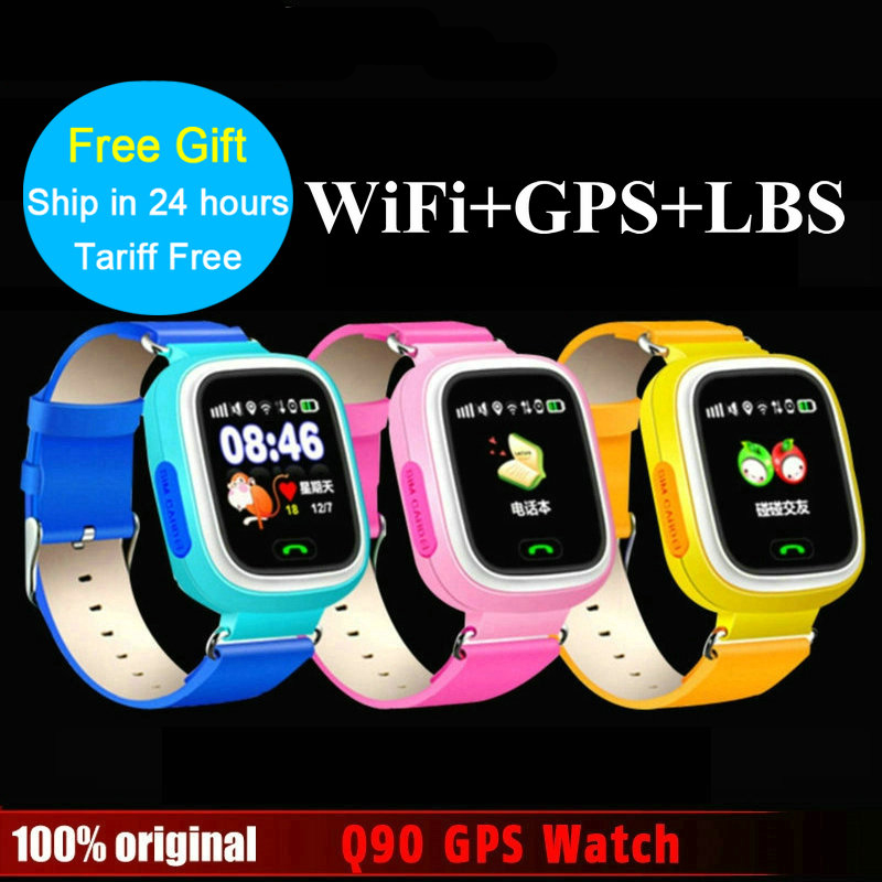 SOS GPS Smart watch Q720 smart baby kids phone watch Touch Screen GPS WIFI Positioning Location