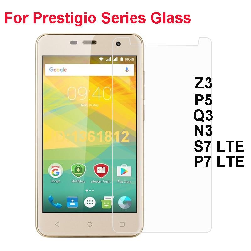 Prestigio Grace Z3 P5 S7 P7 LTE Tempered Glass Protective Film For Prestigio Wize Q3 N3 Glass Screen Protector Mobile Phone Film