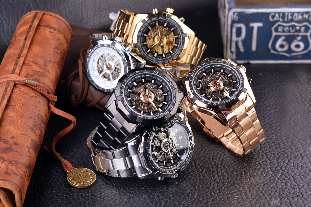 HTB1ew9QOmzqK1RjSZPcq6zTepXaS Forsining 2019 Stainless Steel Waterproof Mens Skeleton Watches Top Brand Luxury Transparent Mechanical Sport Male Wrist Watches