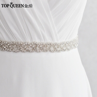 TOPQUEEN FREE SHIPPING S216 Rhinestones Crystals Wedding Belts Wedding Sashes Rhinestones Crystals Bridal Belts Bridal Sashes
