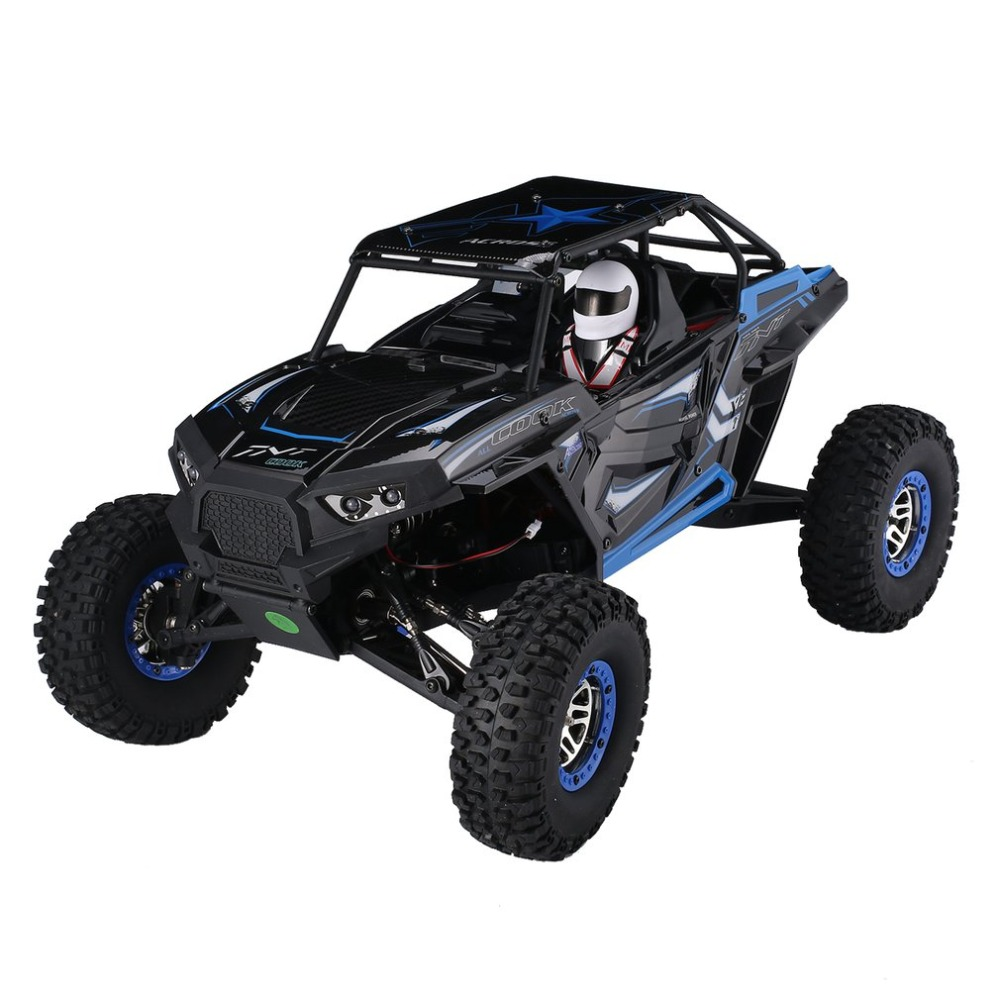 Wltoys 10428-B 1/10 Scale 2.4Ghz 4WD 30km/h Climbing High Speed RC Crawler Off-Road Rock Electric RC Remote Control Car RTR