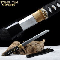 Japan Katanas Blancas High Manganese Steel Samurai Sword Handmade Katana Samurai Tanto Knife Katana Sword Battle Ready