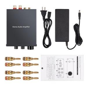 Image 5 - Prozor 50w amplificador de potência digital hi fi classe d integrado amplificador de áudio estéreo de 2 canais com baixo e controle agudos