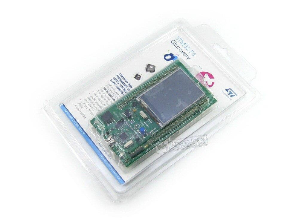 Livraison gratuite STM32 Kit de découverte STM32F429I-DISCO STM32F4 série écran tactile STM32F429ZIT6 STM32 carte de développement d'évaluation