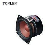 TONLEN 2PCS 3 inch Full Range Speaker 4 ohm 20 W Music Desktop Speakers Car HIFI DIY Home Theater Loudspeaker Subwoofer Tweeter
