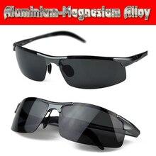 2016 Special Offer Sport Gafas De Sol Aluminium Titanium Magnesium Battle Field Style Polarized Uv400 Uv100% Mens Sunglasses