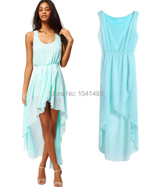 Casual high low summer dresses