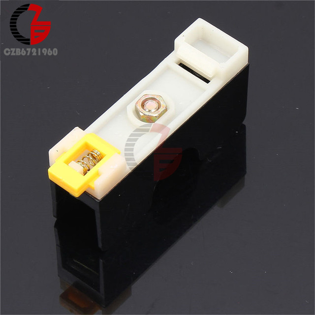 FS101 10A 6*30mm Fuse Socket With Indicator Light DIN RAIL Mounted Fuse