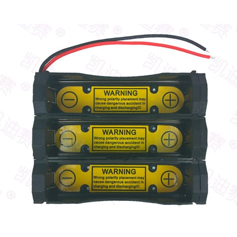 1Pcs Charging Discharging Control Battery Holder Case for Li-ion 11.1V 18650 17670 Cell 3S1P battery charging slot